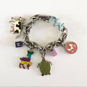 Marc Jacobs Animal Charms Bracelet